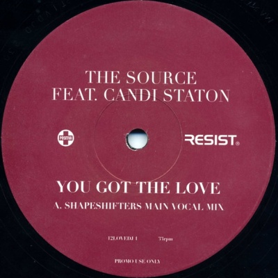 The Source - You Got The Love (Shapeshifters Remix) (Single)