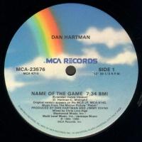 Dan Hartman - Name Of The Game 12 (Promo)