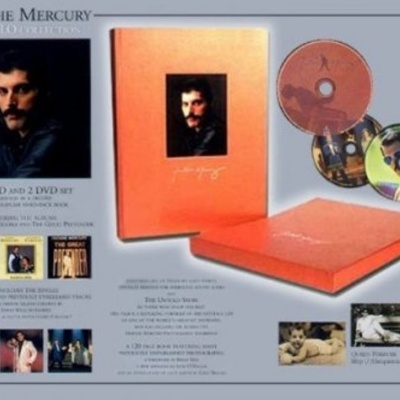 Freddie Mercury - The Solo Collection СD-4: The Singles 1973-1985