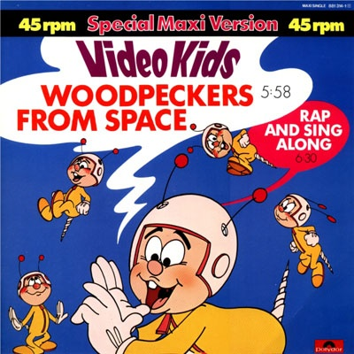 Video Kids - Woodpeckers From Space (Single)