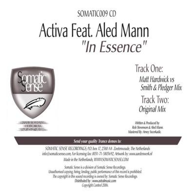 Activa - In Essence (Single)