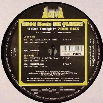 Bison - I Got Tonight (2005 Rmx) (Album)