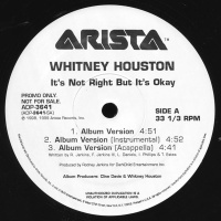 Whitney Houston - It's Not Right But It's Okay (Album Version)