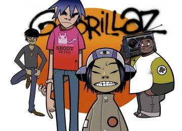 Такой группу Gorillaz вы еще не видели