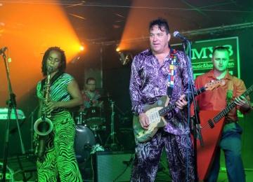 Короли рокабилли Red Elvises в Мумий Тролль Music Bar