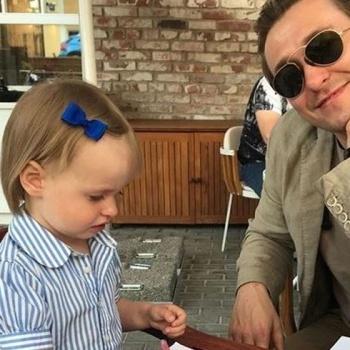 Сергей Безруков показал фотографию маленькой дочери