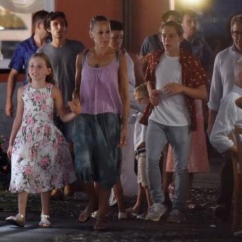 Сара Джессика Паркер вместе с мужем и детьми отдыхает в Италии