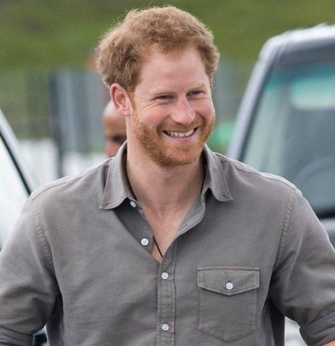 Принцу Гарри исполнилось 34 года