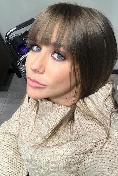 Юлия Барановская сменила прическу